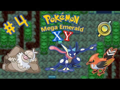 GRENINJA HYPE AND ROCK SMASH HM WAS ANNOYING TO FIND!! | Pokemon Mega Emerald X Y EP #4