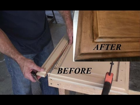 How to fix Cabinet Doors W/ Basic Tools