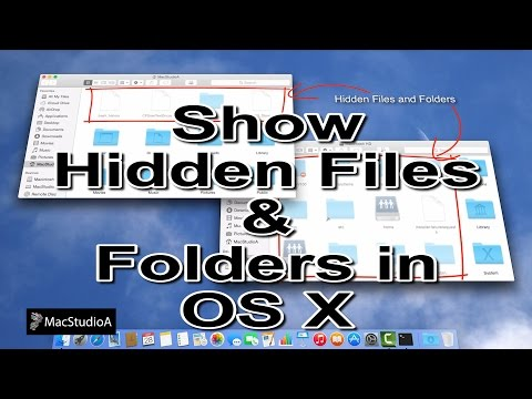 How To View Hidden Files and Folders in Mac OS X