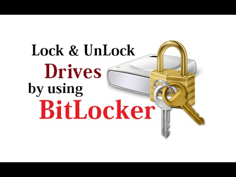 Lock and Unlock Drives by using Bitlocker Option in Windows 8.1 in Urdu/Hindi