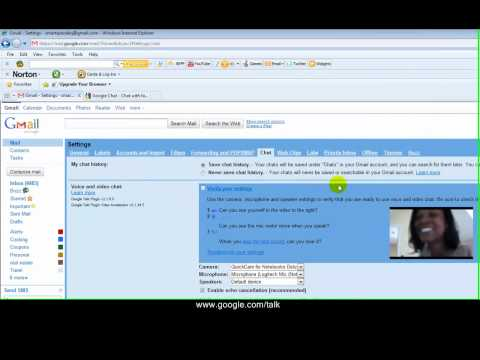 Using Video Chat in Gmail