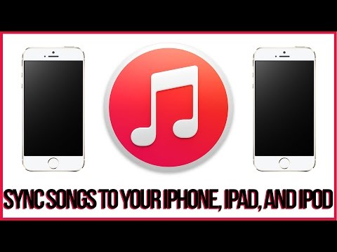 Itunes 12 Tutorial - How To Sync Songs To Your iPhone, iPad or iPod