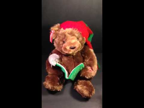 Gund Twas the Night Before Christmas Talking Bear
