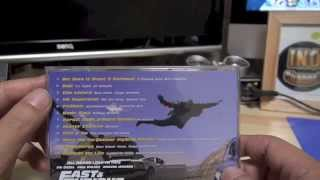FAST & FURIOUS 6  MUSIC CD
