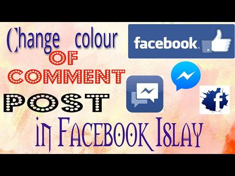 Now change text colour of comments and post on Facebook | Facebook lite app| by Nitish sharma