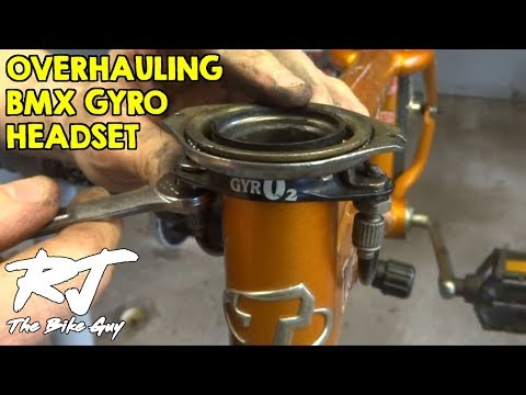 Overhaul BMX Bike Headset With Gyro/Rotor/Detangler