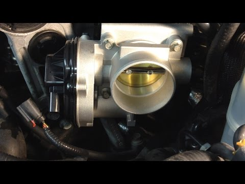 Ford Five Hundred & Freestyle Surging No Start: Electronic Throttle Body Replacement