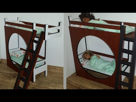 How to make a Doll Bunk Bed