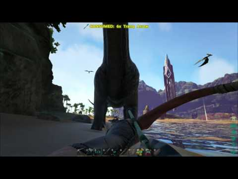 Not enough tranquilizer arrows for Bronto - ARK