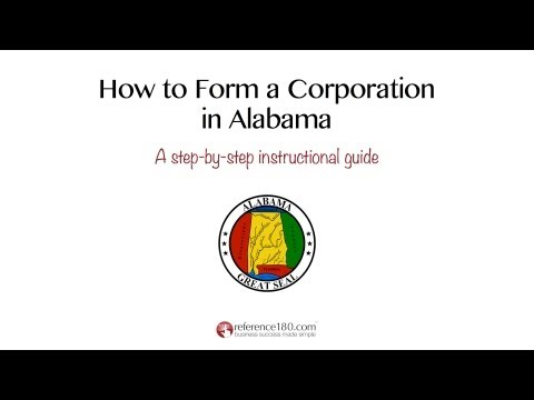 How to Incorporate in Alabama