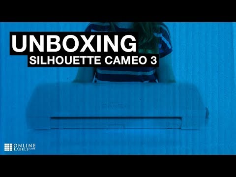 Silhouette Cameo 3 Unboxing - See What's Inside