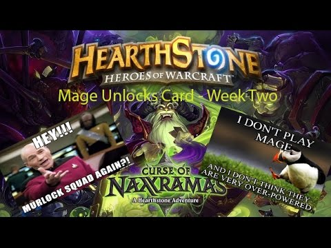 Hearthstone - How to Unlock the new MAGE cards in Naxxramas!