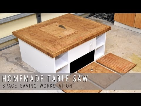 4 in one Homemade Table Saw Modular | Plans Available