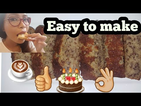 Quick and Easy Banana Cake Recipe Using Your Oven Toaster