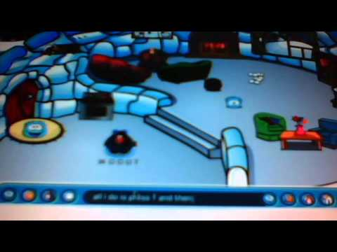 How to throw snowballs very fast- Club Penguin