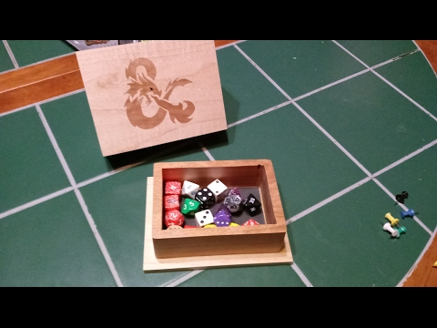 Real Life - Making a Combination Dice Box and Rolling Tray (Reuploaded)