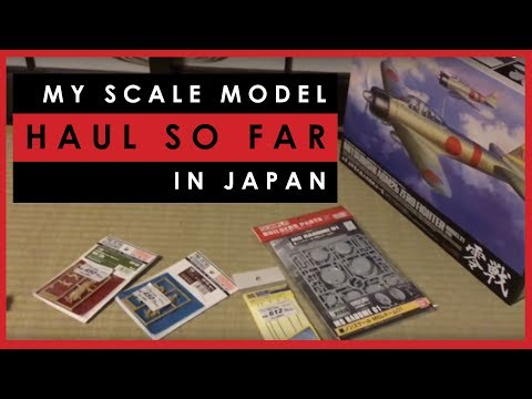 My Scale Model Purchases So Far In Japan