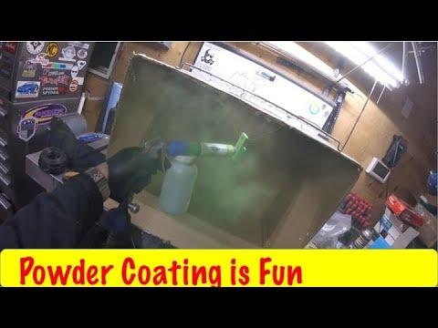 EastWood Dual Voltage Powder Coating System