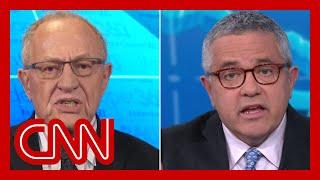 Alan Dershowitz and Jeffrey Toobin spar over impeachment