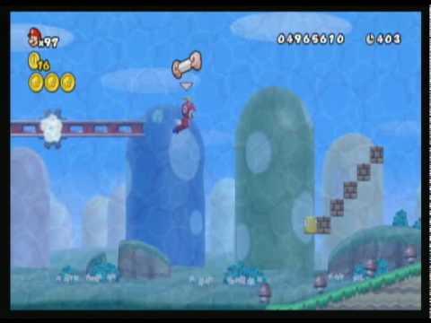New Super Mario Bros. Wii custom level by Nintendoboy123 (NinSegaGamer123)