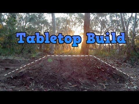 Making A BMX Tabletop Dirt Jump