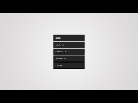 #How to Create Vertical Menu With HTML/CSS