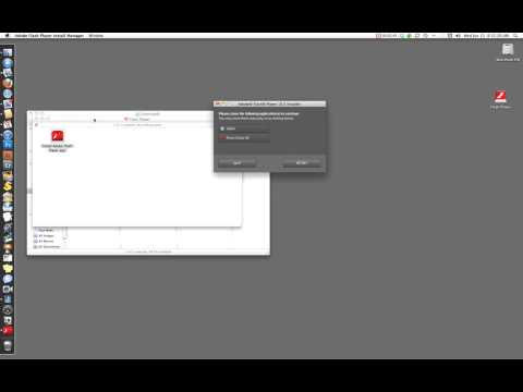 How to install and configure Adobe Flash Player on a Mac