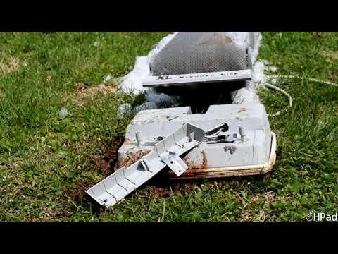 Oreck XL Vacuum Destruction