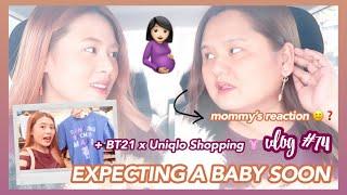 Expecting a Baby SOON + BTS x Uniqlo BT21 T-shirt Shopping | Eunice Santiago