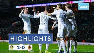 Highlights | Leeds United 2-0 Hull City | 2019/20 EFL Championship
