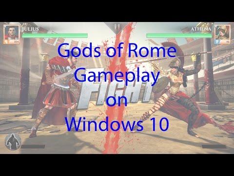 Gaming on Windows 10: Gods of Rome gameplay on Windows 10 (version 1511) PC