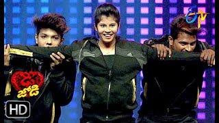 Ritik and Tanvi Performance | Dhee Jodi | 20th March 2019   | ETV Telugu
