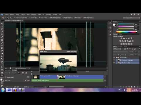 Tuto Photoshop CS6 #2 | Montage Vidéo + Rendu sur CS6 ! | FR