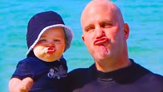 TRY NOT TO LAUGH - Baby Copy Everything - WE LAUGH