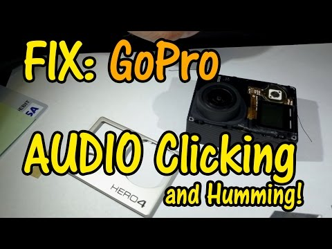 GoPro FIX Audio Clicking and Humming Hero4 (Wifi Interference)