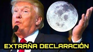 La EXTRAÑA declaración de Trump sobre el próximo viaje a la Luna