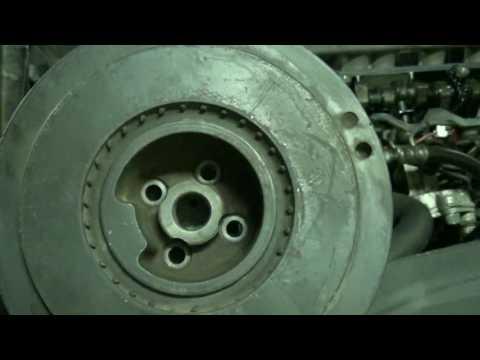 D5252T timing belt change part 5c: Main timing belt Installation. Volvo 850 S70 V70 S80 TDI 2.5D