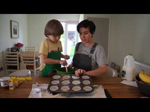Super simple fairy cake Easter nests with Side Street Style & Day Out With The Kids