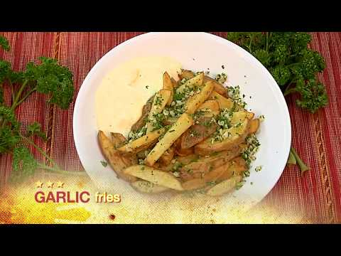 How to prepare Garlic Fries, The Boss