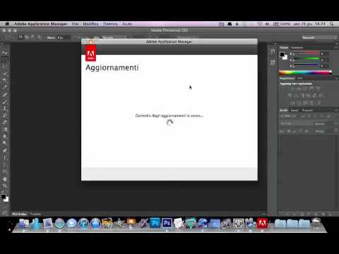 Come Aggiornare Suite Adobe CS6 per Mac