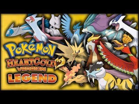 Pokémon HeartGold/SoulSilver - Legendary Pokémon Round-Up