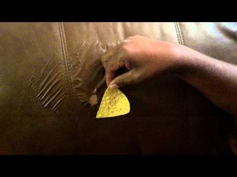Jerome's Furniture Leather peeling