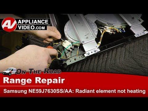 Samsung Range / Oven - Radiant Element not heating - Diagnostic & Repair