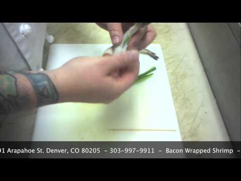 How to make bacon wrapped shrimp!