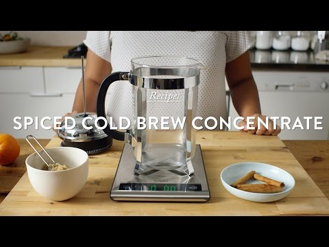 Spiced Cold Brew Concentrate