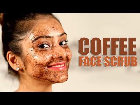 Coffee Face Scrub   Make up Tutorial   Make up Video