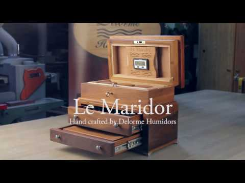 Le Maridor,  Hand-Crafted by Delorme Humidors