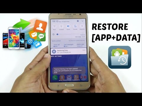 How To Backup/Restore (App+Data) After Installing Custom Rom