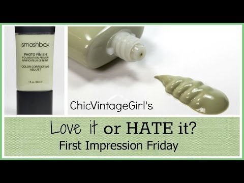 First Impression Friday l Smashbox's Green Foundation Primer