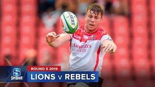 Download Lions v Rebels | Super Rugby 2019 Rd 5 Highlights Video